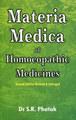 Materia Medica of Homoeopathic Medicines, S.R. Phatak