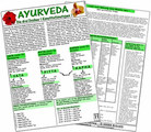 "Ayurveda - Die drei Doshas ""Konstitutionstypen"" - Karte A5, Uwe Hawelka (Hrsg.)"