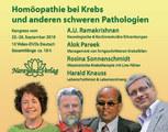 Homöopathie bei Krebs und anderen schweren Pathologien - 10 DVD's (Kongress 2010) - Sonderangebot, A.U. Ramakrishnan / Alok Pareek / Harald Knauss / Rosina Sonnenschmidt