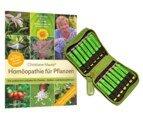 Homöopathie für Pflanzen (Buch) und Einsteigerset für Garten, Zimmer- und Balkonpflanzen (Mittel), Christiane Maute®