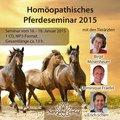 Homöopathisches Pferdeseminar 2015 - 1 Audio-CD im mp3-Format, Birgit Mosenheuer / Dominique Fraefel / Erich Scherr