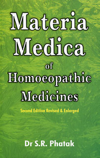 S.R. Phatak: Materia Medica of Homoeopathic Medicines