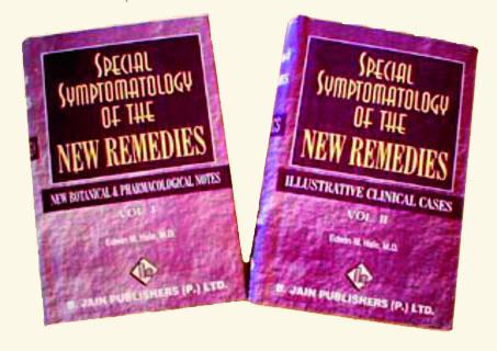 Special Symptomatology of New Remedies 2 Vol./Edwin M. Hale