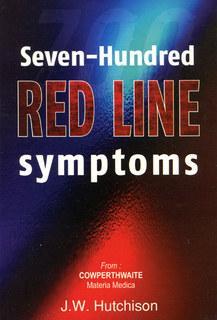 Seven Hundred Redline Symptoms, J. W. Hutchinson