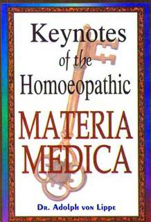Keynotes of Homoeopathic Materia Medica/Adolf zur Lippe