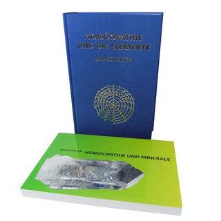 Set: Homöopathie und die Elemente + Homöopathie und Minerale zum Sonderpreis - Zweier-Set, Jan Scholten