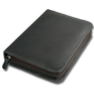 60er Taschenapotheke leer - OMEO - Rindnappa-Leder schwarz/