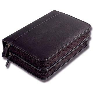 120er Taschenapotheke leer - OMEO - Rindnappa-Leder schwarz/