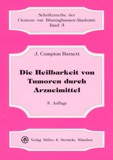 Die Heilbarkeit von Tumoren durch Arzneimittel/James Compton Burnett
