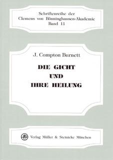 Die Gicht und ihre Heilung, James Compton Burnett