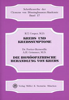 Krebs und Krebssymptome/Robert T. Cooper / Maurice Fortier-Bernoville / Arthur Hill Grimmer
