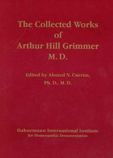 The Collected Works of Arthur Hill Grimmer/Arthur Hill Grimmer / Ahmed N. Currim