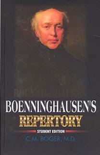 Boenninghausens Repertory, Cyrus Maxwell Boger