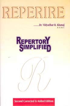 Reperire - Repertory Simplified, Vidyadhar R. Khanaj