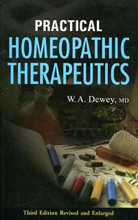 Practical Homoeopathic Therapeutics, Willis Alonzo Dewey