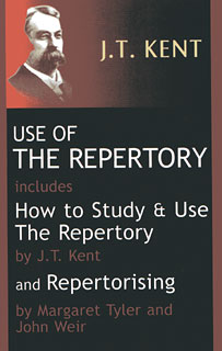 Use of the Repertory/James Tyler Kent / Margaret Lucy Tyler / John Weir