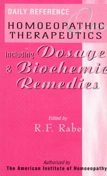 Daily Reference on Homoeopathic Therapeutics/R.F. Rabe