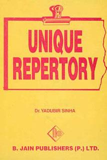 Unique Repertory/Yadubir Sinha