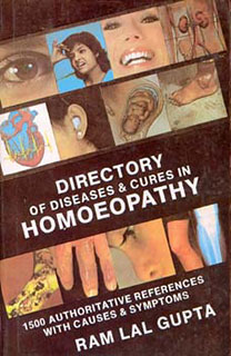 Directory of Diseases & Cures in Homoeopathy - I/R.L. Gupta