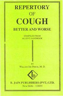Repertory of Cough/Willard Ide Pierce