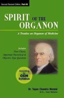 Spirit of the Organon, Part 3/Tapan Chandra Mondal