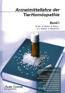 Arzneimittellehre in der Tierhomöopathie I/Bär u.a.