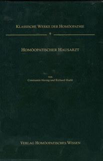 Homöopathischer Hausarzt - Band 9/Constantin Hering / Richard Haehl