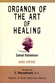 Organon of The Art of Healing, Samuel Hahnemann