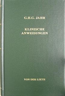 Klinische Anweisungen, Georg Heinrich Gottlieb Jahr