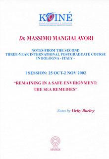 Notes, Session 1/Massimo Mangialavori