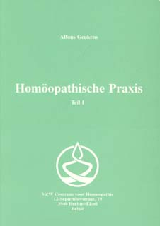 Band 1 - Homöopathische Praxis/Alfons Geukens