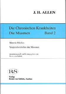 Die Chronischen Krankheiten Bd.2/John Henry Allen