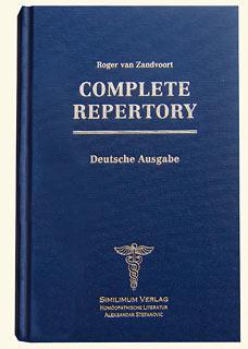 Complete Repertory Praxisausgabe - Restposten/Roger van Zandvoort