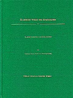Kleine Schriften zur Homöopathie          Band 10/Clemens von Bönninghausen