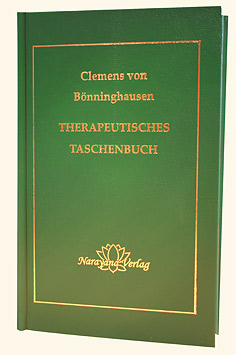 Therapeutisches Taschenbuch/Clemens von Bönninghausen
