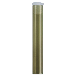 Fioles à bord droit 1,5 g en verre brun, 100 pièces