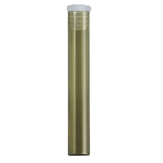 Fioles à bord droit 1,5 g en verre brun - 880 pièces/