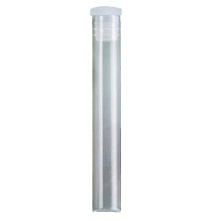 Fioles à bord droit 1,5 g en verre transparent - 100 pièces/