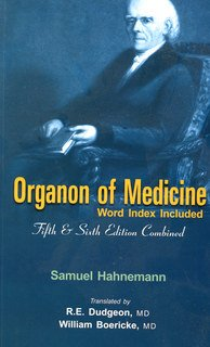 Organon of Medicine/Samuel Hahnemann
