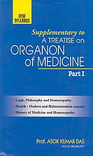 Supplementary to A Treatise on Organon of Medicine Part I/Asok Kumar Das