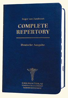 Complete Repertory Taschenausgabe/Roger van Zandvoort