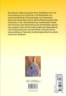Kaninchen - Homöopathie und Kräuteranwendung, Alois Weber