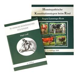 Set: Klassische Homöopathie für Rinder + Homöopathische Konstitutionstypen beim Rind/Birgit Gnadl / Angela Lamminger-Reith
