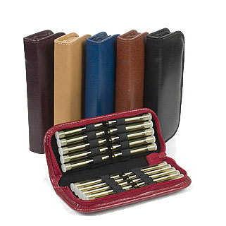 "20 - Leather remedy cases ""mini""/"