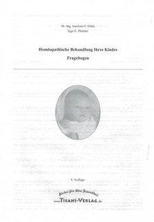 Homöopathische Behandlung Ihres Kindes, Joachim-F. Grätz