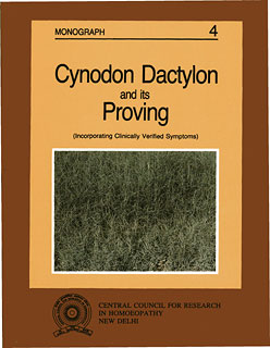 Cynodon Dactylon and its Proving/Muzumdar