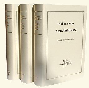 Hahnemanns Arzneimittellehre - Mängelexemplar, Samuel Hahnemann