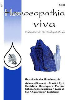 Homoeopathia viva 08-1 Edelsteine/Zeitschrift