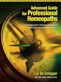 Advanced Guide for Professional Homeopaths/Luc De Schepper
