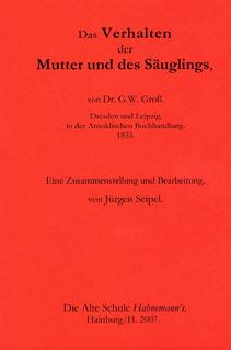 Das Verhalten der Mutter und des Säuglings/Jürgen Seipel